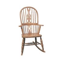 High Back Hoop Rocking Chair