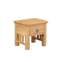 Quebec Oak Lamp Table