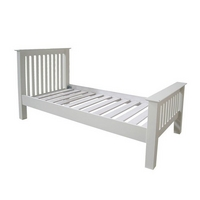 Provence 3ft Single Slatted Bed