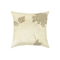Isodore Brown  Natural Silk Mix Cushion
