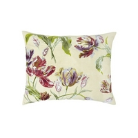 Gosford Floral Embroidered Cushion