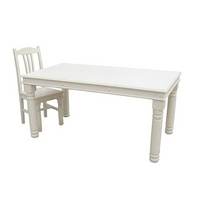 Kristina Large White Dining Table