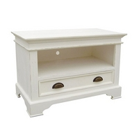 Kristina White 1 Drawer TV Cabinet