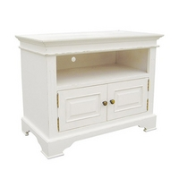 Kristina White 2 Door TV Cabinet
