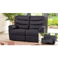 Albacete reclining armchair black
