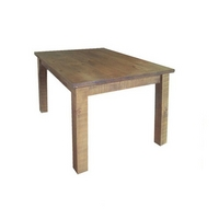 Rough Sawn Large Square Dining Table