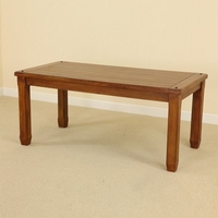 "Baku Teak Mango 5ft 6"" x 2ft 7"" Dining Table"