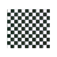 Black/White Mosaic Matt - 324x298x5mm