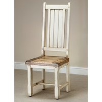 Shabby Chic Solid Mango Dining Chair