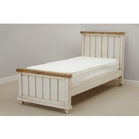 Shabby Chic Solid Mango Single Bed