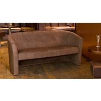 Chester 3 seat sofa dark brown