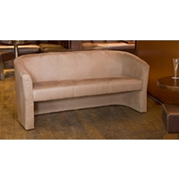 Chester 3 seat sofa medium brown
