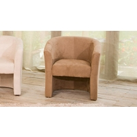 Chester tub chair medium brown