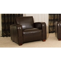 Walsingham armchair brown