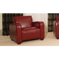 Walsingham armchair red