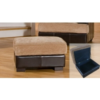 Grosvenor Footstool Brown