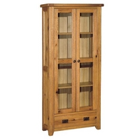 Reclaimed Oak Display Cabinet