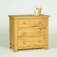 Oxbury Pine Chest 3 Drawer