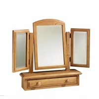 English Heritage Dressing Table Mirror - Triple