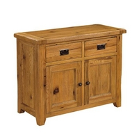 Reclaimed Oak Small Sideboard