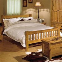 Reclaimed Oak 5ft Kingsize Bed