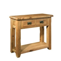 Reclaimed Oak Console Table - Small