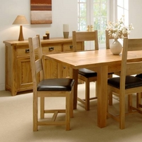 Reclaimed Oak Dining Set - Small