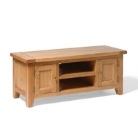 Vancouver Oak Large TV Stand