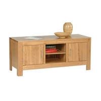 Contemporary Oak Low Unit