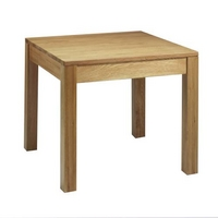 Contemporary Oak Dining Table Square