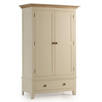 Camden Painted Wardrobe Double with Drawer