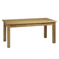 Contemporary Oak Dining Table 180cm