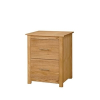Oakleigh 2 Drawer Filing Cabinet