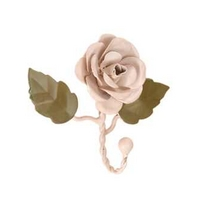 Maisie Cream Rose Single Hook