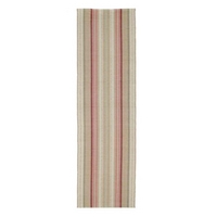 Manderine Red Stripe Cotton Runner
