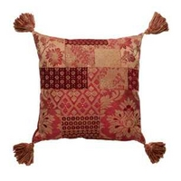 Chesterly Red Tapestry Cushion