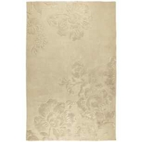 Claverton Natural Floral Wool Mix Rug