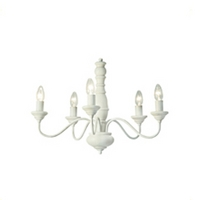 Milnsbridge Cream 5 Light Chandelier