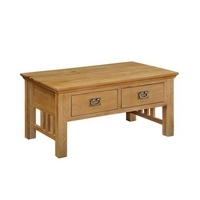 Lincoln Oak Coffee Table