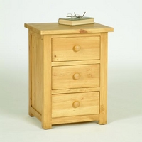 Oxbury Pine Bedside Chest