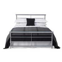 Double Andreas Bedstead - Chrome