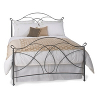 Double Ardo Bedstead - Pewter