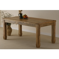 "Baku Light Mango 5ft 6"" x 2ft 7"" Dining Table"