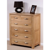 Galway Solid Oak Chest of Drawers