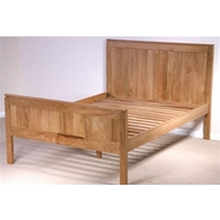 Galway Solid Oak Double Bed