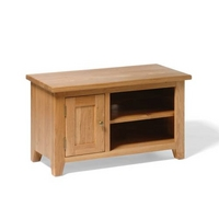 Vancouver Oak TV Stand