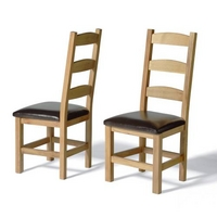 Oak Ladderback Chair